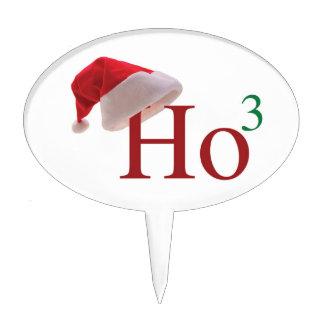 Ho Ho Ho Felices Navidad Decoración De Tarta