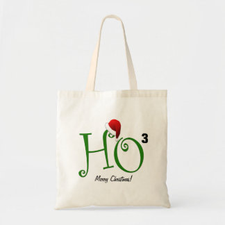 ¡Ho Ho Ho!  Felices Navidad Bolsa Tela Barata
