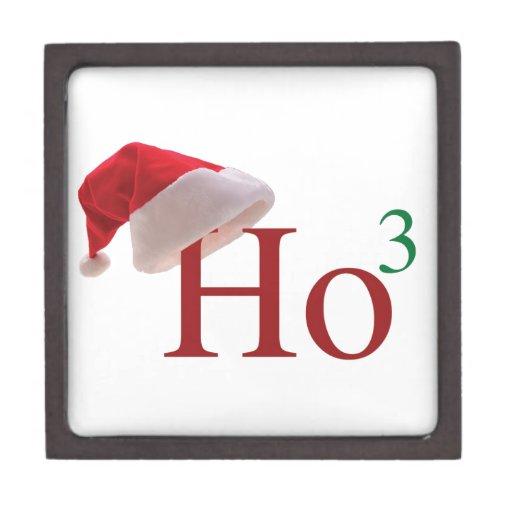 Ho Ho Ho Felices Navidad Cajas De Joyas De Calidad