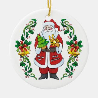 Ho Ho Ho Felices Navidad Ornamentos De Reyes Magos