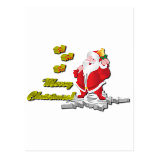 ¡Ho! ¡Ho! ¡Ho! Felices Navidad Postales