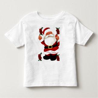¡Ho! ¡Ho! ¡Ho! Feliz Christmas_ Playera De Bebé
