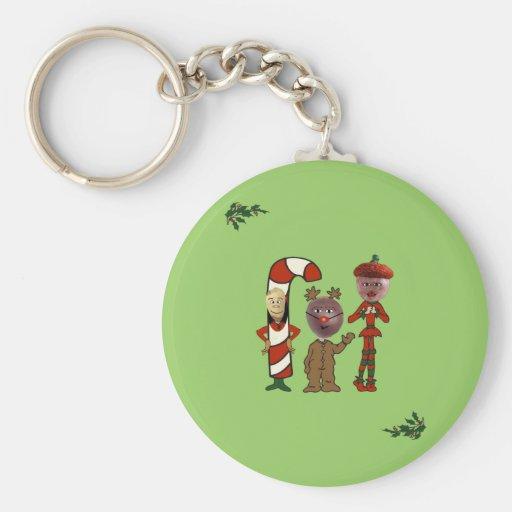 Ho! Ho! Ho! from 3 Christmas Nuts Key Chain