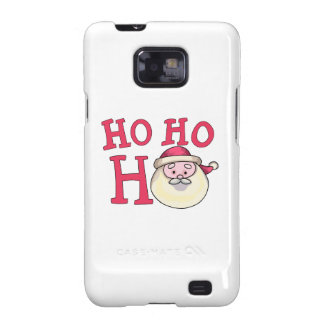 Ho Ho Ho Galaxy SII Fundas