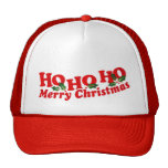 """""""Ho Ho Ho gorra de las Felices Navidad"""""""