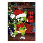 Ho Ho Ho Gummibär Christmas Card