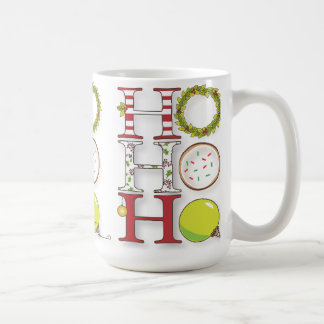 HO HO HO Happy Holiday Christmas Cheer Coffee Mug