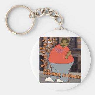 Ho Ho Ho Ho Ho It s Chubby Alfred Keychains