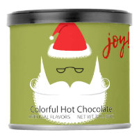 Ho Ho Ho Holiday Colorful Hot Chocolate Powdered Drink Mix