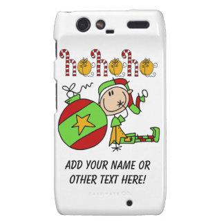 Ho Ho Ho Holiday Elf Motorola Droid RAZR Covers