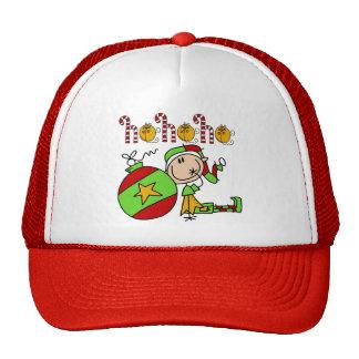 Ho Ho Ho Holiday Elf Trucker Hats