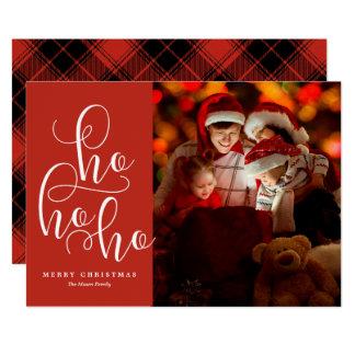 Ho Ho Ho Holiday Photo Card