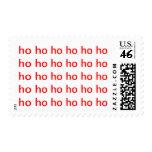 HO HO HO Holiday Stamp