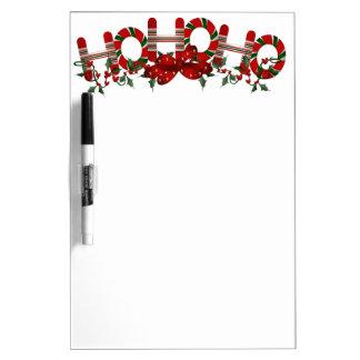 Ho Ho Ho Holly Dry Erase Board
