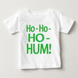"""Ho-Ho-Ho-Hum"" Green Logo Baby T-Shirt"