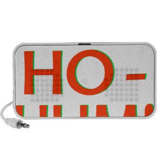 Ho-Ho-Ho-Hum Red Logo iPod Speakers