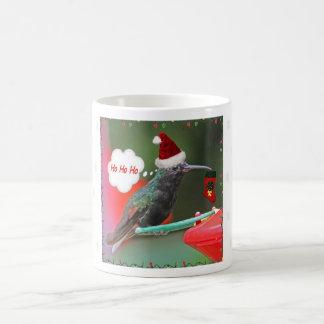 Ho Ho Ho Hummingbird Classic White Coffee Mug