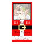 Ho ho ho juego Photocard de Santa de las Felices N Tarjetas Fotograficas