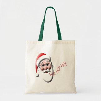¡Ho! ¡Ho! ¡Ho! La bolsa de asas del navidad de
