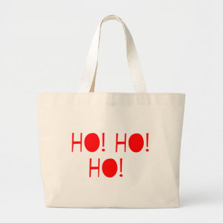 Ho Ho Ho Large Tote Bag