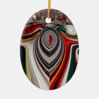 HO HO HO! Latest Christmas Retro vintage Hakuna Ma Ceramic Ornament