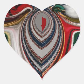 HO HO HO! Latest Christmas Retro vintage Hakuna Ma Heart Sticker