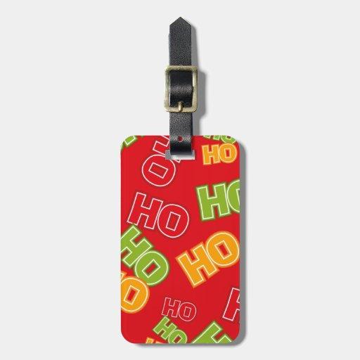Ho Ho Ho Luggage Tags