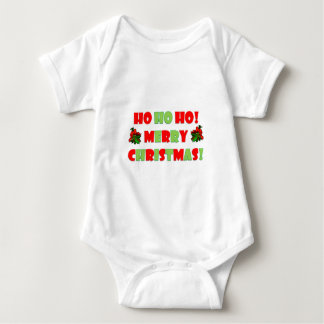 Ho Ho Ho Merry Christmas Baby Bodysuit