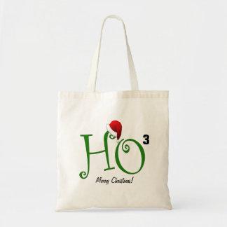 Ho Ho Ho!  Merry Christmas Budget Tote Bag