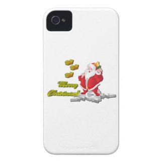 Ho! Ho! Ho! Merry Christmas iPhone 4 Case-Mate Cases