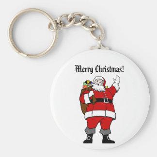 Ho,Ho,Ho Merry Christmas! - Christmas Keychain