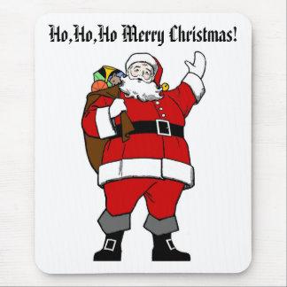 Ho,Ho,Ho Merry Christmas! - Christmas Mousepad