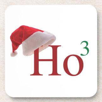 Ho Ho Ho Merry Christmas Drink Coaster
