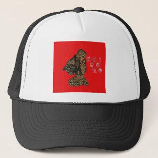 Ho Ho Ho! Merry Christmas Indonesia cute retro vin Trucker Hat