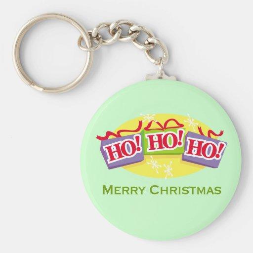 Ho Ho Ho Merry Christmas Keychain