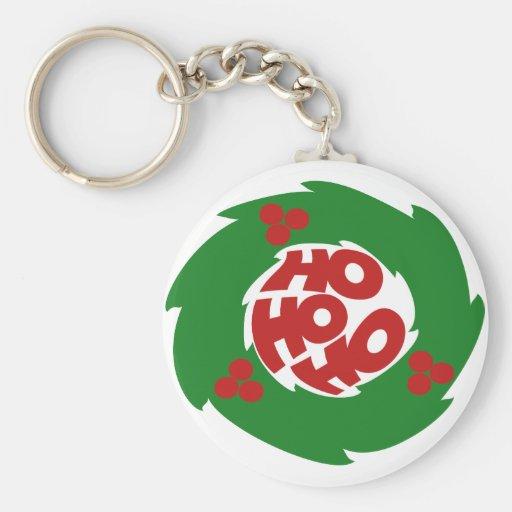 Ho ho ho Merry Christmas Key Chain