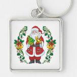 Ho Ho Ho Merry Christmas Keychains