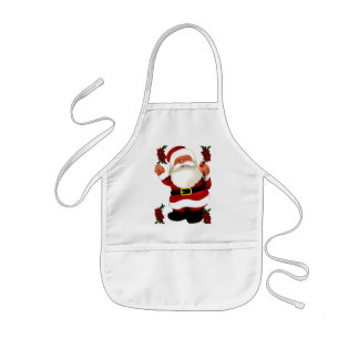 Ho! Ho! Ho! Merry Christmas_ Kids' Apron