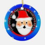 Ho Ho Ho Merry Christmas Ornaments