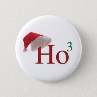 Ho Ho Ho Merry Christmas Pinback Button