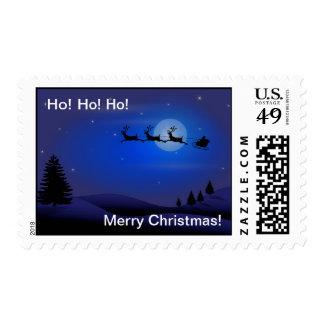 Ho! Ho! Ho! Merry Christmas Postage
