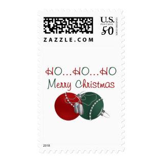 Ho Ho Ho Merry Christmas Postage at Zazzle