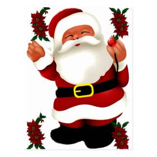 Ho! Ho! Ho! Merry Christmas_ Postcard