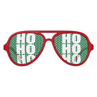 Ho Ho Ho Merry Christmas Santa Claus party shades