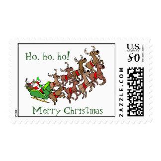 Ho,ho,ho - Merry Christmas Santa Stamp