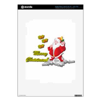 Ho! Ho! Ho! Merry Christmas iPad 3 Skin