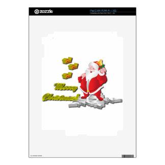 Ho! Ho! Ho! Merry Christmas iPad 2 Decal