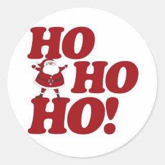 Ho Ho Ho Merry Christmas Stickers
