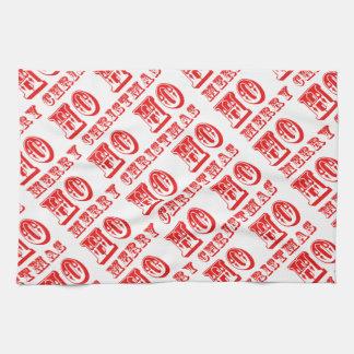 Ho Ho Ho Merry Christmas Towel