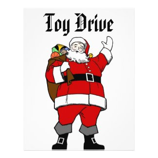 Ho,Ho,Ho Merry Christmas! - Toy Drive Flyer